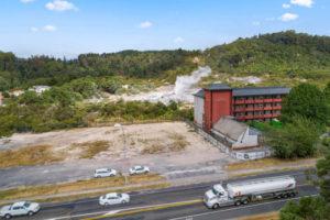 Rotorua's SilverOaks Hotel Geyserland site up for sale