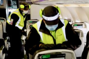 Watch: Air NZ flight experience as you never knew it