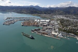 Cruise ship wharf work extended at Nelson