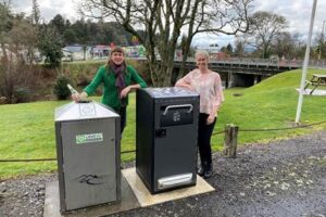 Solar-powered bins to encourage sustainable tourism