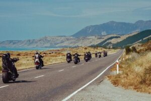 "Motorcycle tour ""twists the throttle"" to help tourism"