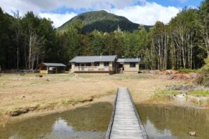 Popular Lake Daniell hut rebuilt and open for visitors