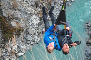 Shotover Canyon Swing goes 'full swing' to raise $50k for charity