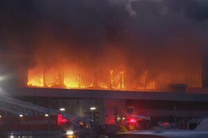 Blaze hits Tourism Holdings site, motorhomes damaged