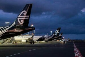 Air NZ passenger numbers fall 51% in Oct