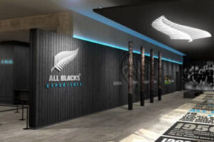 Sneak peek of All Blacks Experience at travel expo