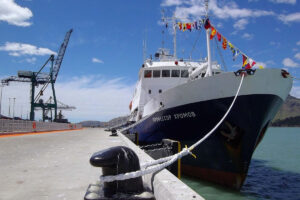Port of Lyttelton welcomes Heritage Expeditions flagship