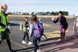 Air NZ sets up team for unaccompanied minors