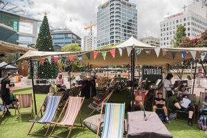 Aotea Square festival kicks off during America's Cup