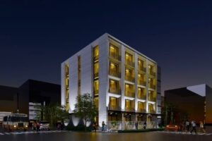 Christchurch hotel development site up for grabs