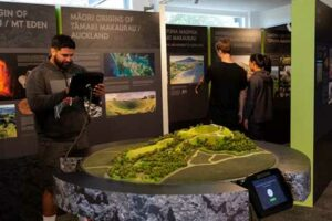 Maungawhau Mt Eden visitor centre wins global gold