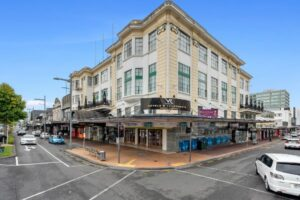 Hamilton block including four-star hotel up for sale