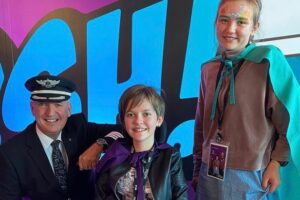Air NZ takes Koru Care kids on special 'kiwi flight'