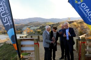 New $7m Otago trail opens, Nash commits more funding