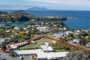 Popular Auckland area seaside holiday park for sale