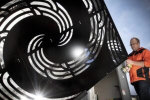 Inaugural light festival boasts local approach