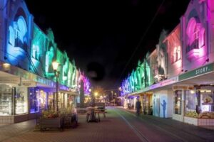 Christchurch pedestrian mall to be permanently lit