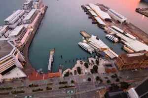 Auckland's revamped waterfront to open