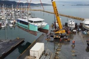 NZ's first electric ferry to launch in Sept