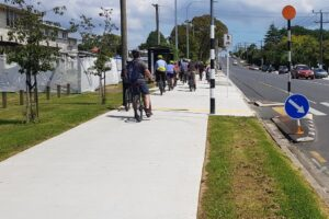 Auckland's $26.6m safe cycle route opens